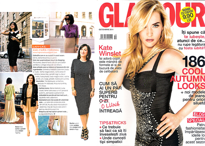 2011, October - Glamour - Ana Morodan