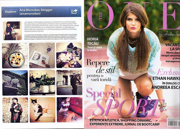 2013, August - The One - Ana Morodan