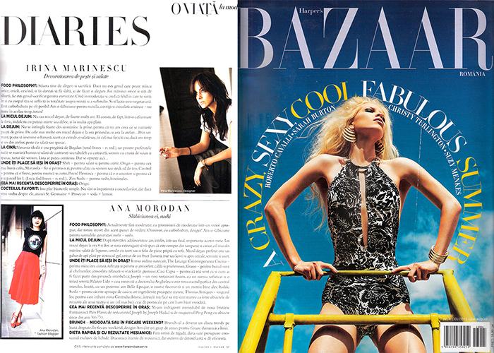 2013, July - Harper's Bazaar - Ana Morodan