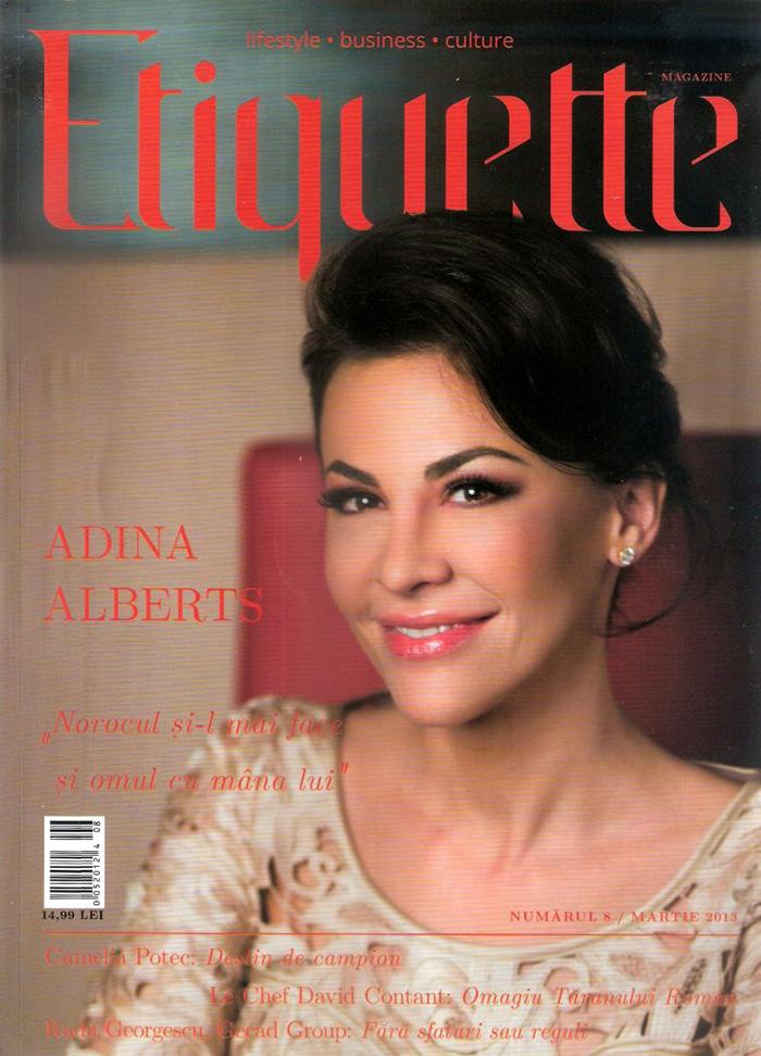 2013, March - Etiquette - Ana Morodan 1.1