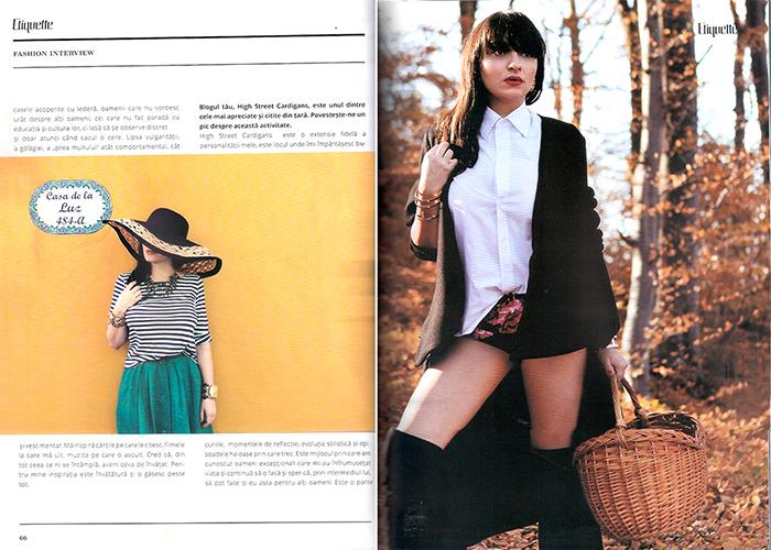 2013, March - Etiquette - Ana Morodan 2
