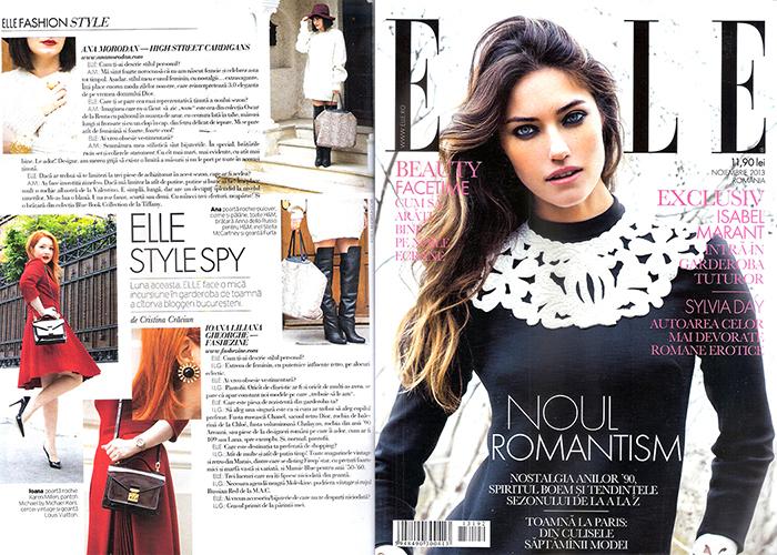 2013, November - Elle - Ana Morodan