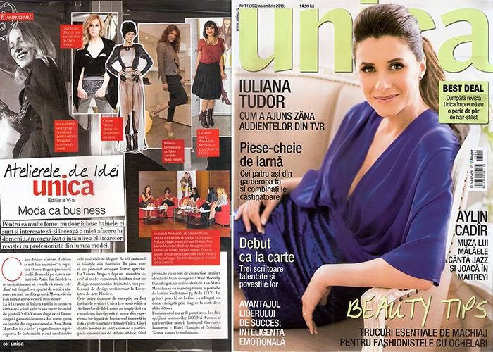 2013, November - Unica - Ana Morodan 1