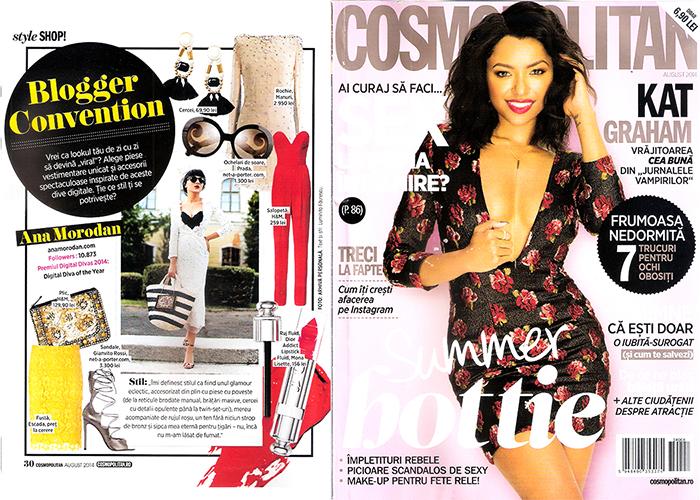 2014, August - Cosmopolitan - Ana Morodan