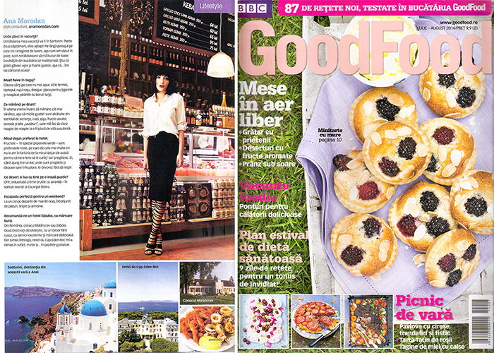 2014, July - Good Food - Ana Morodan