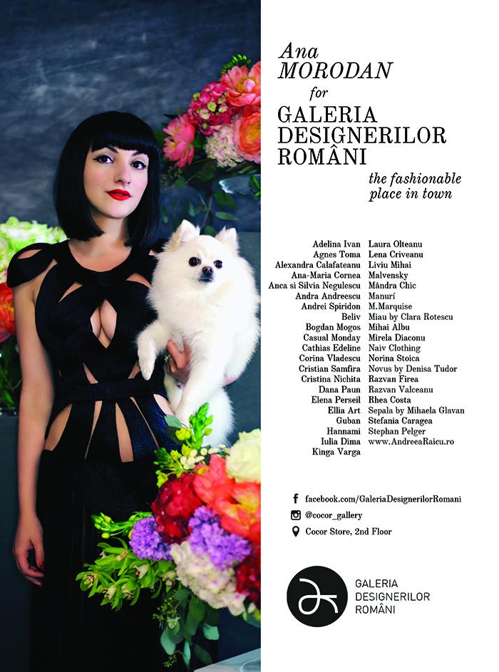 Ana Morodan for Galeria Designerilor Romani