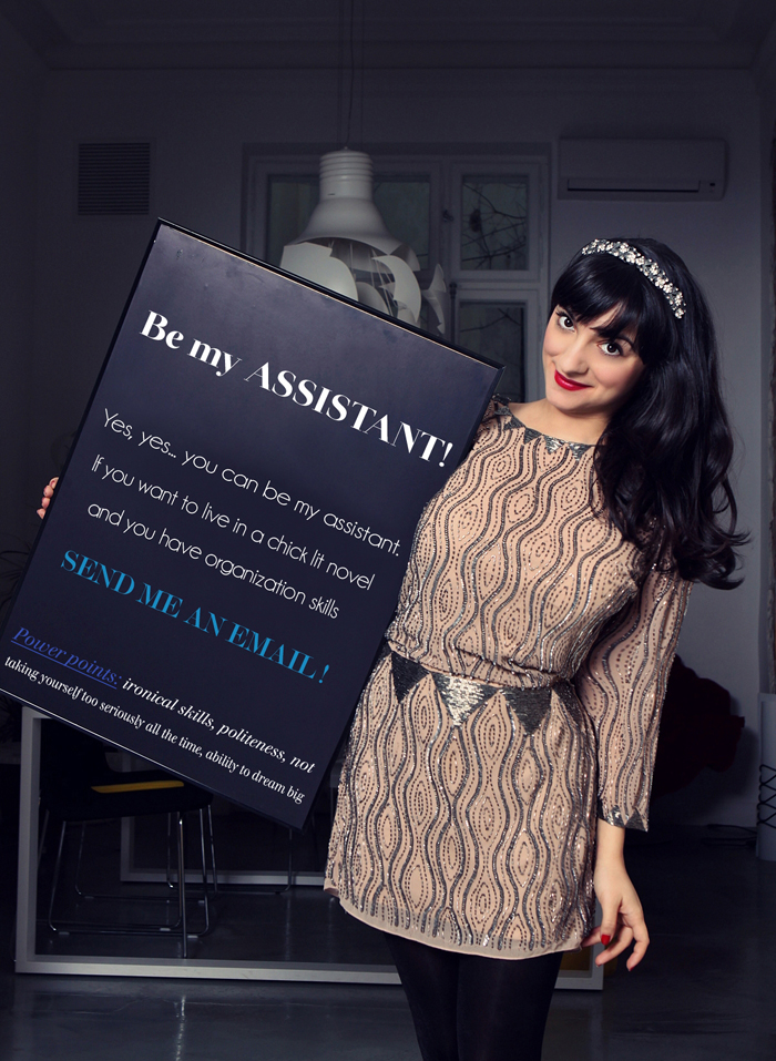 Be Ana's magical assistant