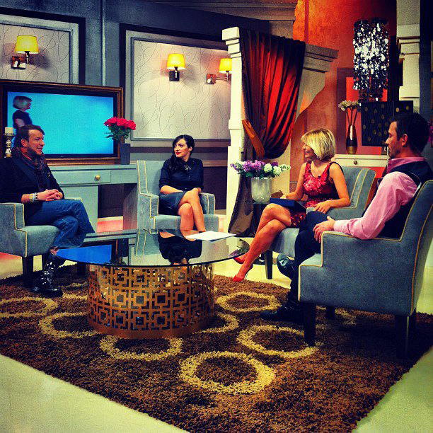 Ana is invited to speak at Antena 2 Tv - Fashion Police Broadcast