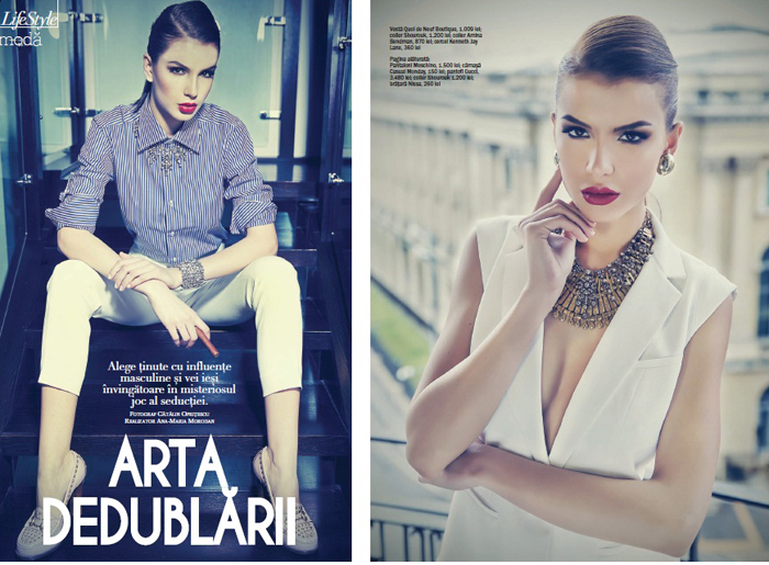 Ana styles a pictorial for VIVA Magazine