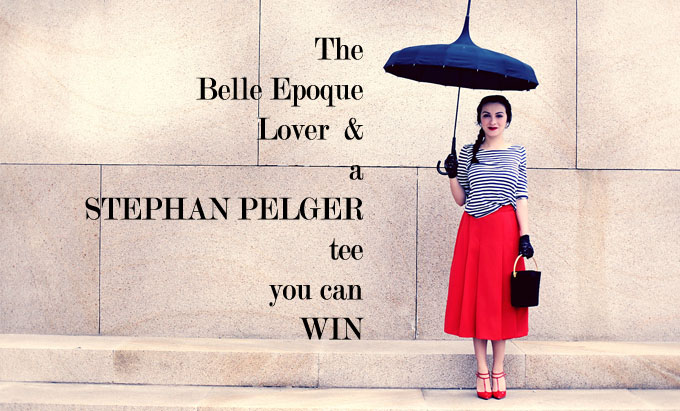 Our perfect lady & a STEPHAN PELGER giveaway