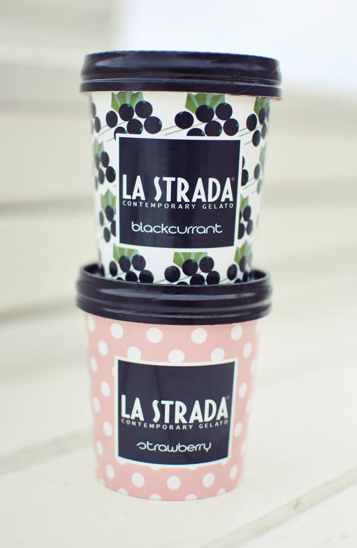 L a Strada Ice Cream
