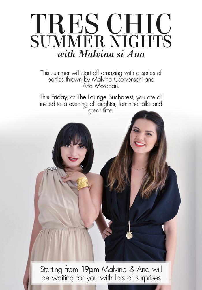 Malvina & Ana's Summer Tres Chic Parties