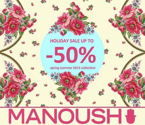 Holiday Sale at Manoush