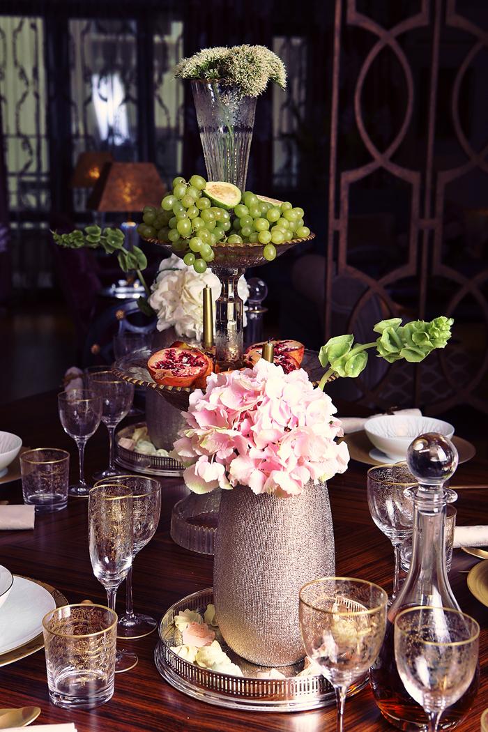 Amazing dinner setting by Hamid Nicola Katrib