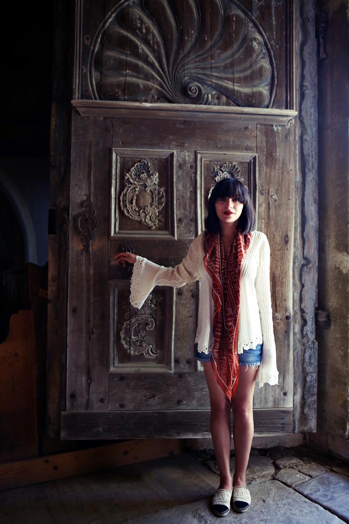 Ana visiting Romania