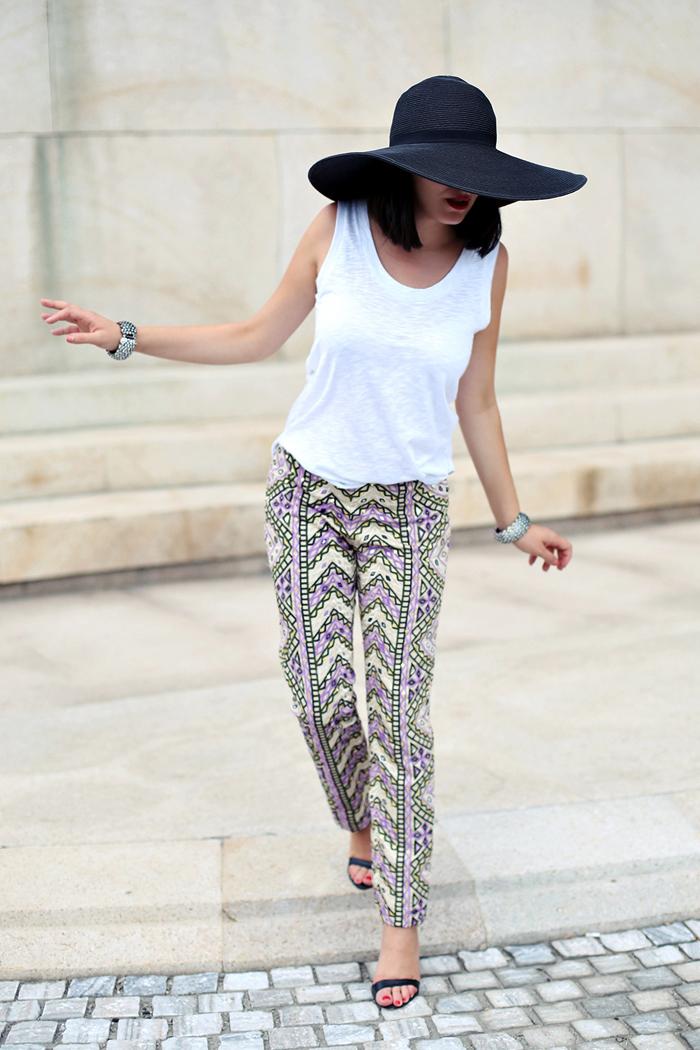 Ana wearing Manoush