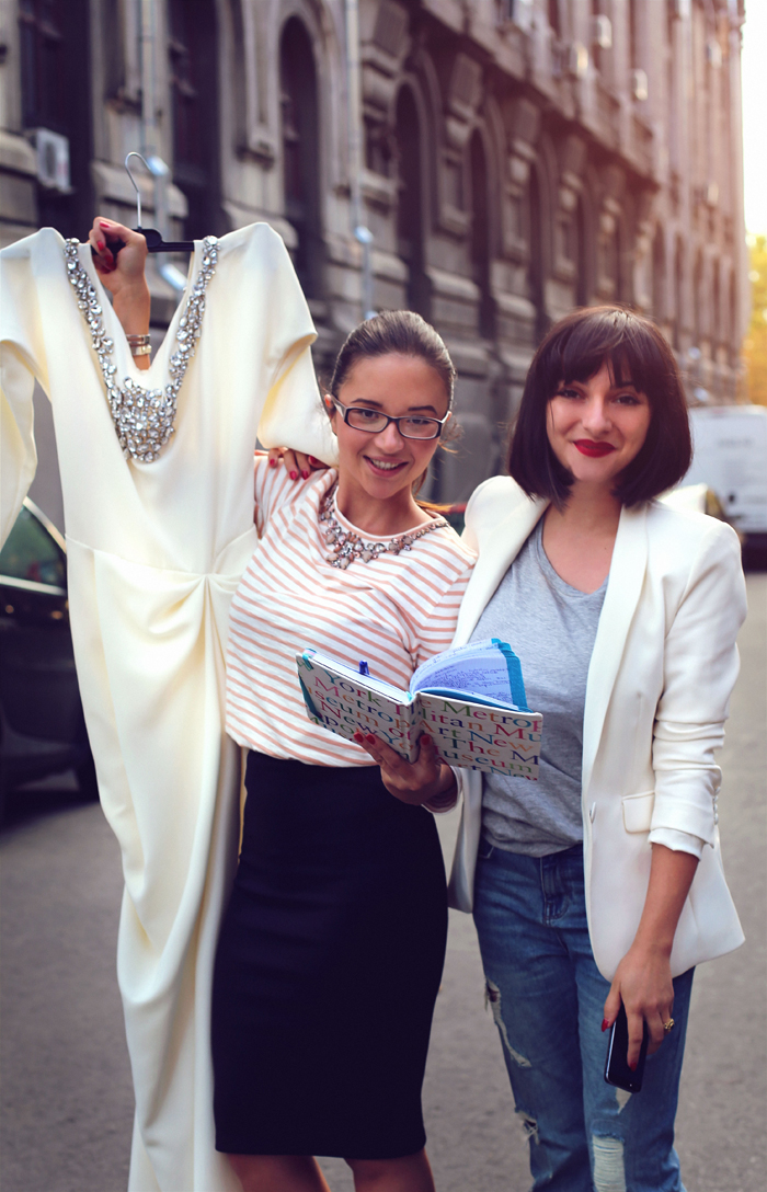 Ana and her lovely assistant Raluca