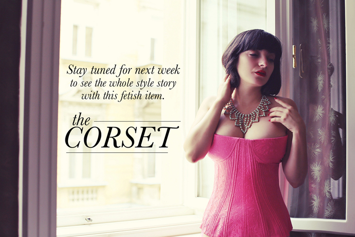Ana feel in love with corsets