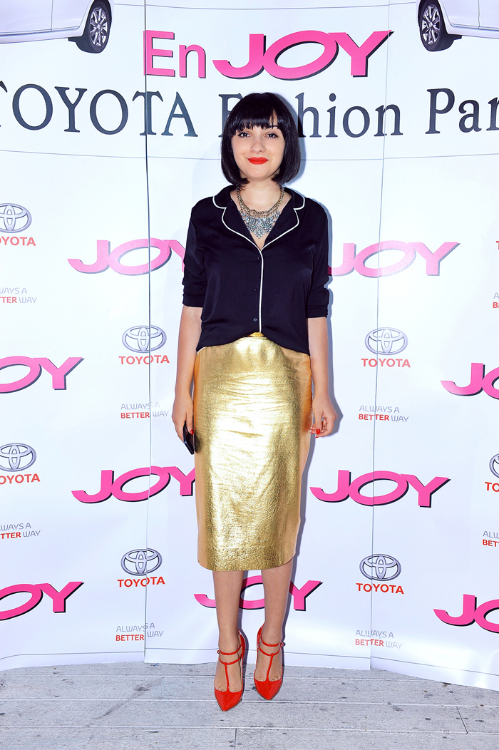 Ana hosting Joy Mag Event