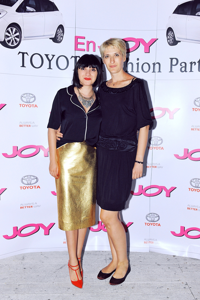 Ana hosting the JOY Mag event