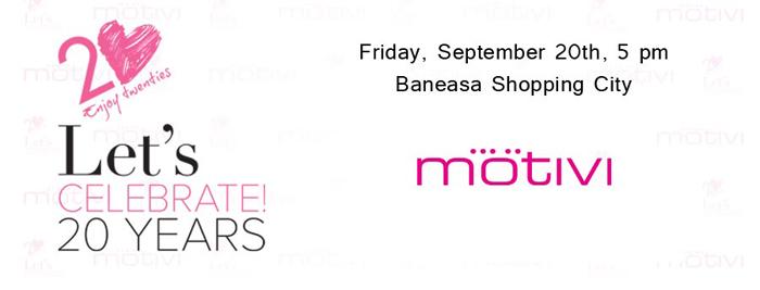 Invitatie Motivi, Baneasa Shopping City, 20 sept, 5pm