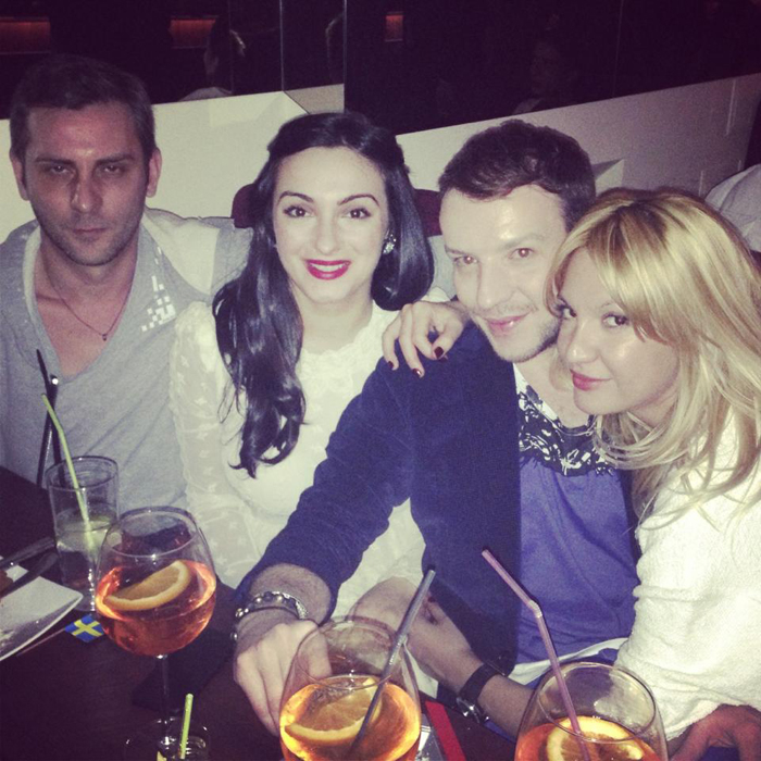 Ovidiu Buta, Stephan Pelger, Ana and their friend Diana