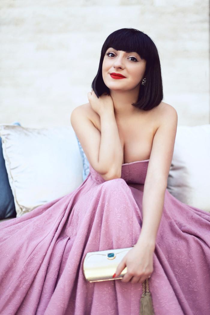pink dress-m