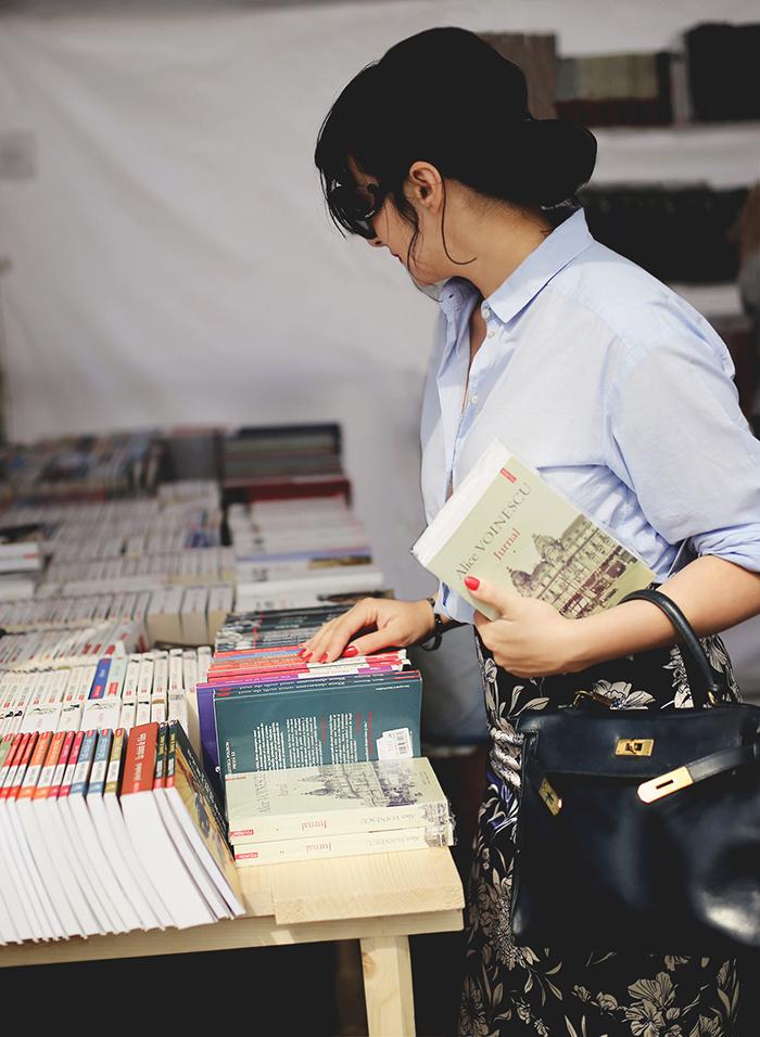 ana at the book fair