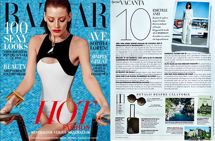 Harpers Bazaar Iulie 2014