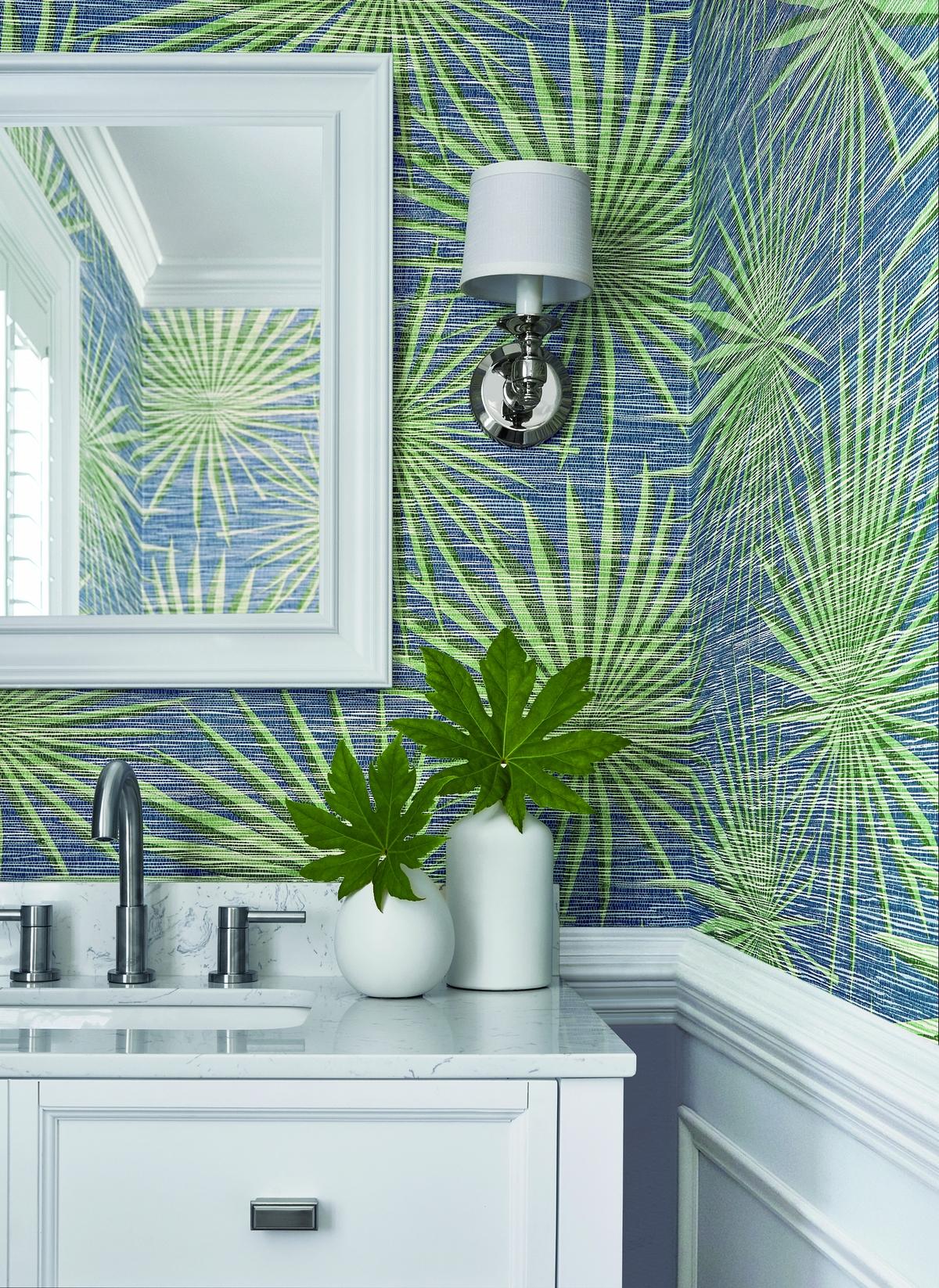 Brand Thibaut colectia Tropics PalmFronds
