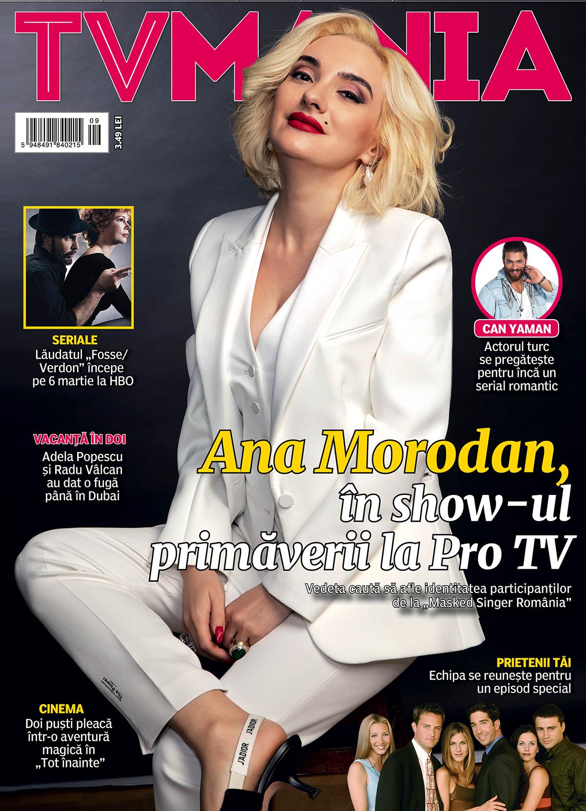 MASKED SINGER ROMANIA , TV MANIA, ANA MORODAN