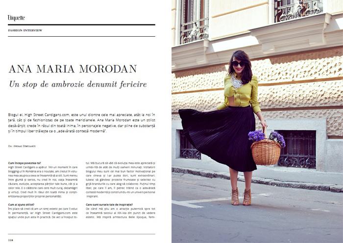 Etiquette Magazine - blog edit