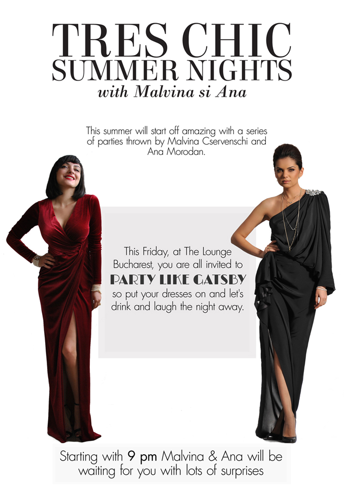 TRES CHIC Summer Nights with Malvina and Ana
