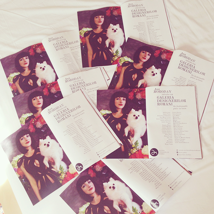 ana in all the magazines