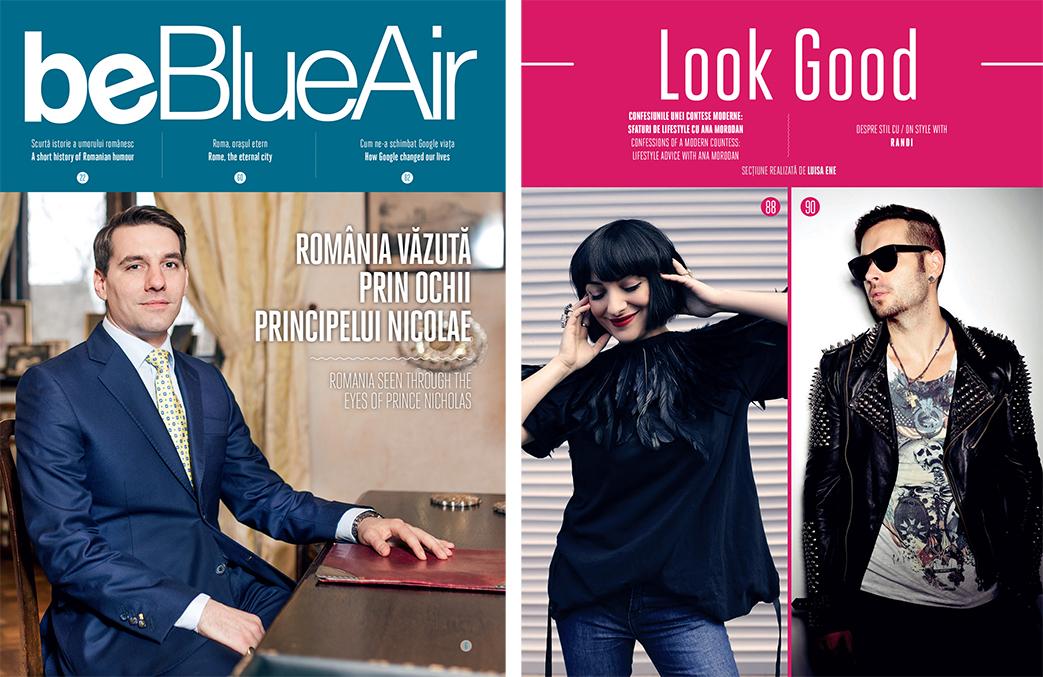 Ana Morodan Blue Air